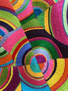 Further work with circles. Cathy Jack Coupland