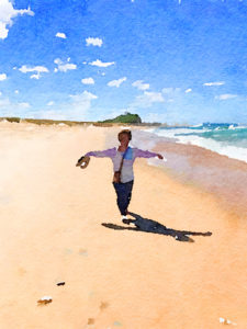Cathy Jack Coupland.Painted in Waterlogue