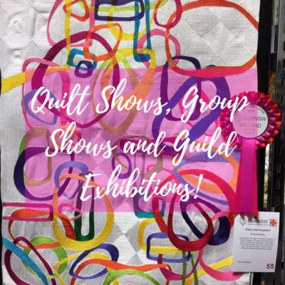 Quilt Shows/Group Shows/Guild Exhibitions
